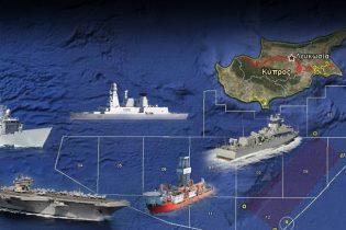 """""""Συνωστισμός"""" στις θάλασσες της Κύπρου"""