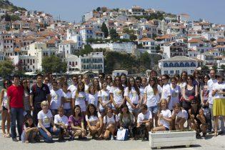 Συνάντηση νεαρών δημιουργών στη Σκόπελο