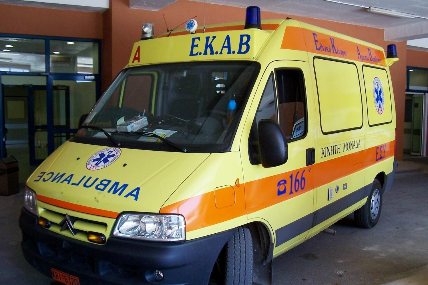 Κρήτη: Εργατικό ατύχημα σε μηχανουργείο