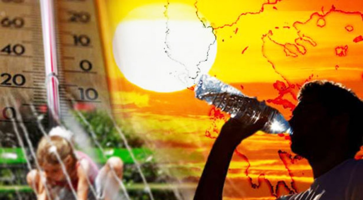 Νέο κύμα καύσωνα: Ερχονται πάλι 40αρια από την Δευτέρα