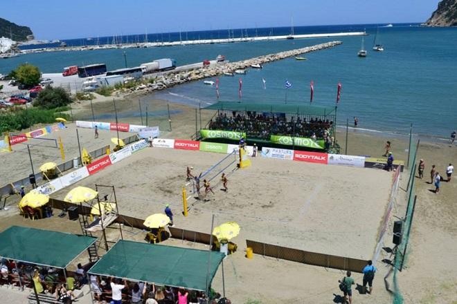 Τουρνουά Beach Volley στην Σκόπελο