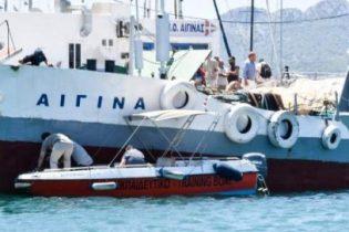 Ναυτική τραγωδία, με δύο νεκρούς σημειώθηκε σήμερα το πρωί ανοιχτά της Αίγινας.
