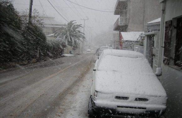 Συστάσεις από την Περιφέρεια για μετακινήσεις στα χιόνια