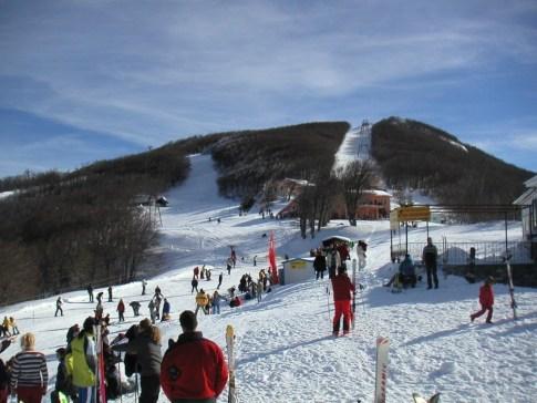Ανοιχτό σήμερα το Χιονοδρομικό Κέντρο Πηλίου