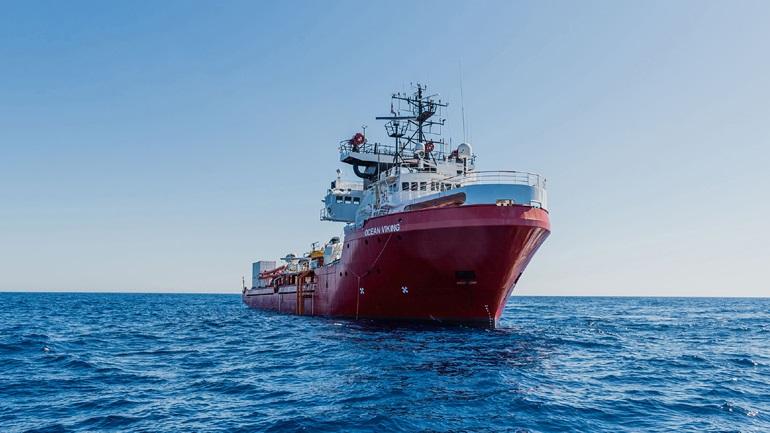 Κατάσταση έκτακτης ανάγκης στο πλοίο Ocean Viking λόγω μεγάλων εντάσεων