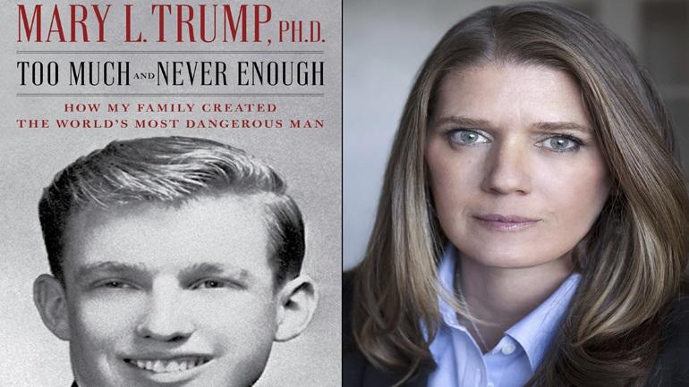 Στις 14 Ιουλίου θα κυκλοφορήσει το βιβλίο της ανιψιάς του Τραμπ
