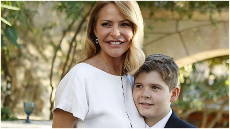 Το τρυφερό μήνυμα της Τζένης Μπαλατσινού για τα γενέθλια του γιου της Μάξιμου
