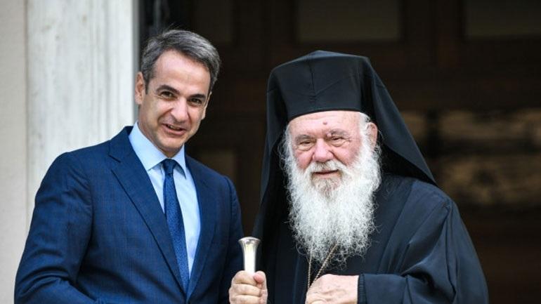 Επικοινωνία του Κυρ. Μητσοτάκη με τον αρχιεπίσκοπο Ιερώνυμο για την Αγία Σοφία