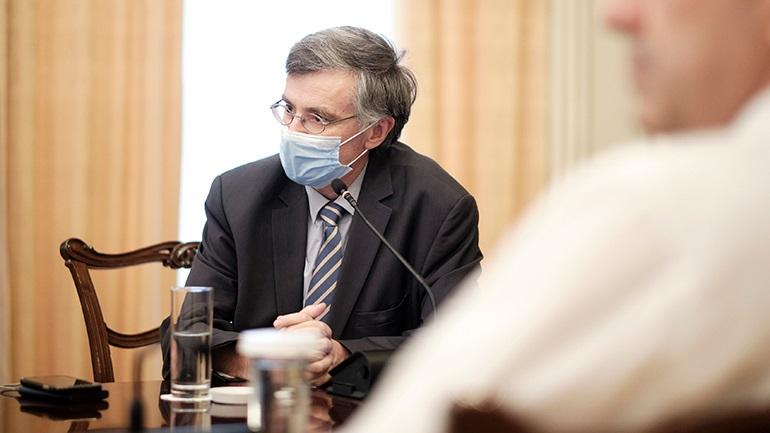 Σύσκεψη αύριο στο Μαξίμου υπό τον Κυριάκο Μητσοτάκη για την εξέταση της κατάστασης με τον κορωνοϊό