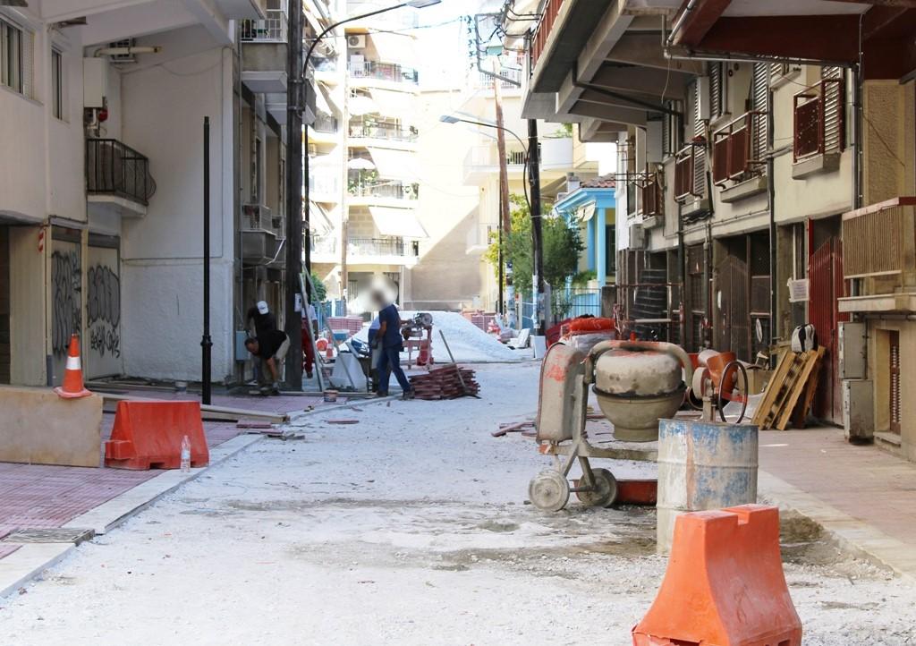 Κυκλοφοριακές ρυθμίσεις λόγω έργων στη συνοικία Αγίου Κωνσταντίνου