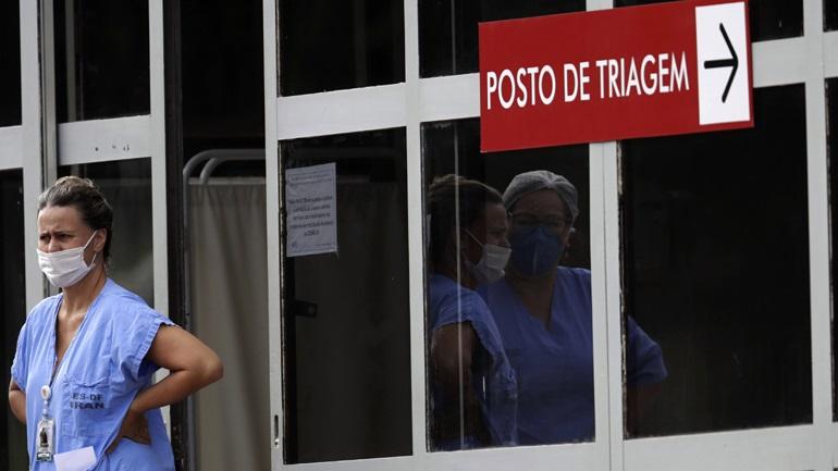 Ξεπέρασαν τους 207.000 οι νεκροί στη Βραζιλία