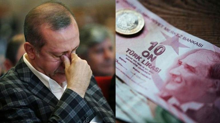 """Ο Ερντογάν ζήτησε ξανά μείωση επιτοκίων από την Κεντρική Τράπεζα και την """"πλήρωσε"""" η τουρκική λίρα"""