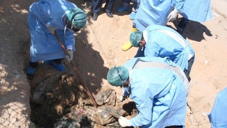 Δέκα πτώματα ανασύρθηκαν από νέο ομαδικό τάφο στην πόλη Ταρχούνα
