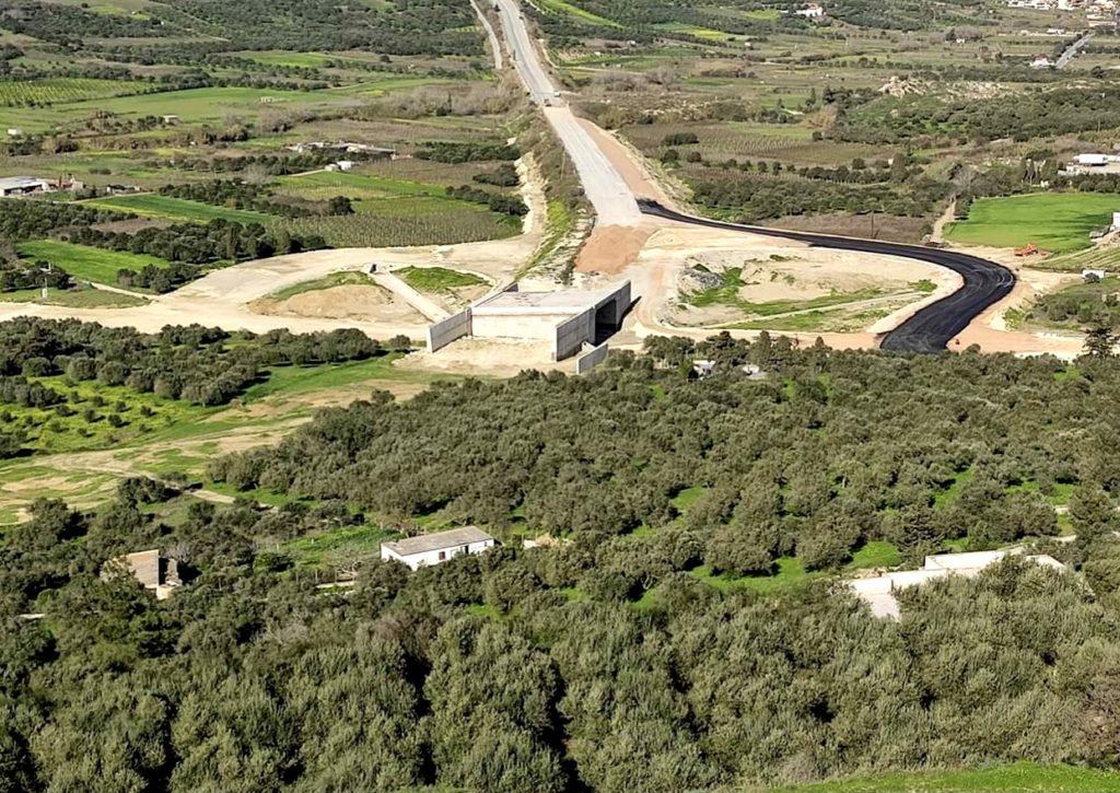 Εγκρίθηκε η κυκλοφοριακή ρύθμιση για το άνοιγμα της επαρχιακής οδού Ηρακλείου – Βιάννου