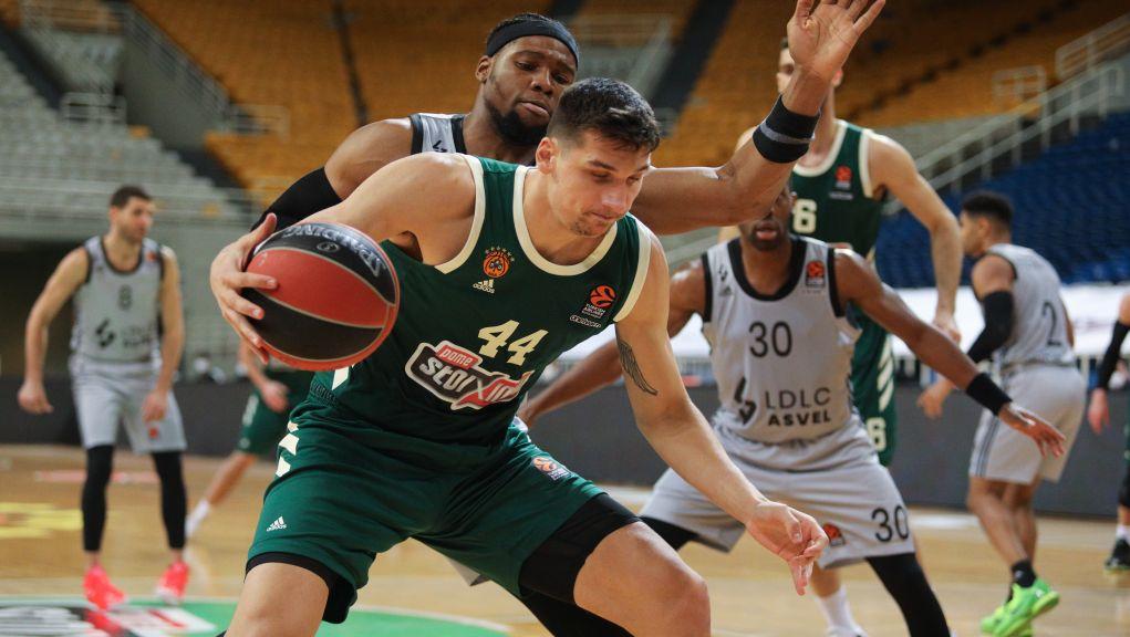 Σούπερ Νέντοβιτς οδήγησε τον Παναθηναϊκό στη νίκη, 88-71 την Βιλερμπάν