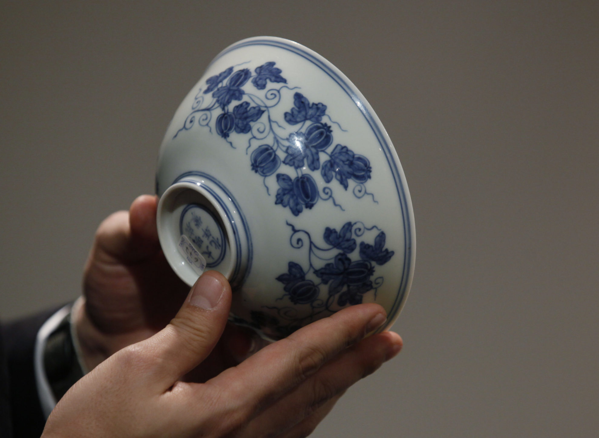 Κινεζικό μπολ που αγοράστηκε 35 δολάρια θα τεθεί σε δημοπρασία με εκτιμώμενη αξία 300-500 χιλιάδες δολάρια