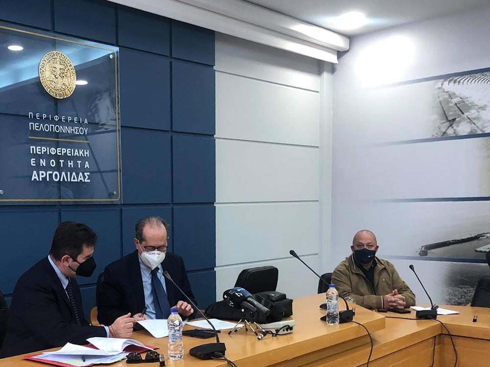 Συμβάσεις για συντηρήσεις δρόμων στην Αργολίδα